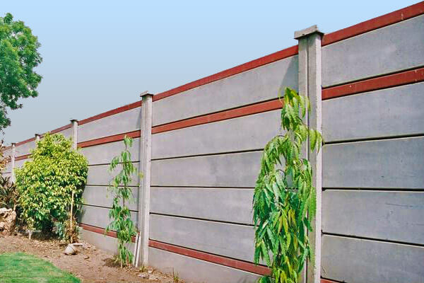 Boundary Wall Izhar Concrete Pvt Ltd