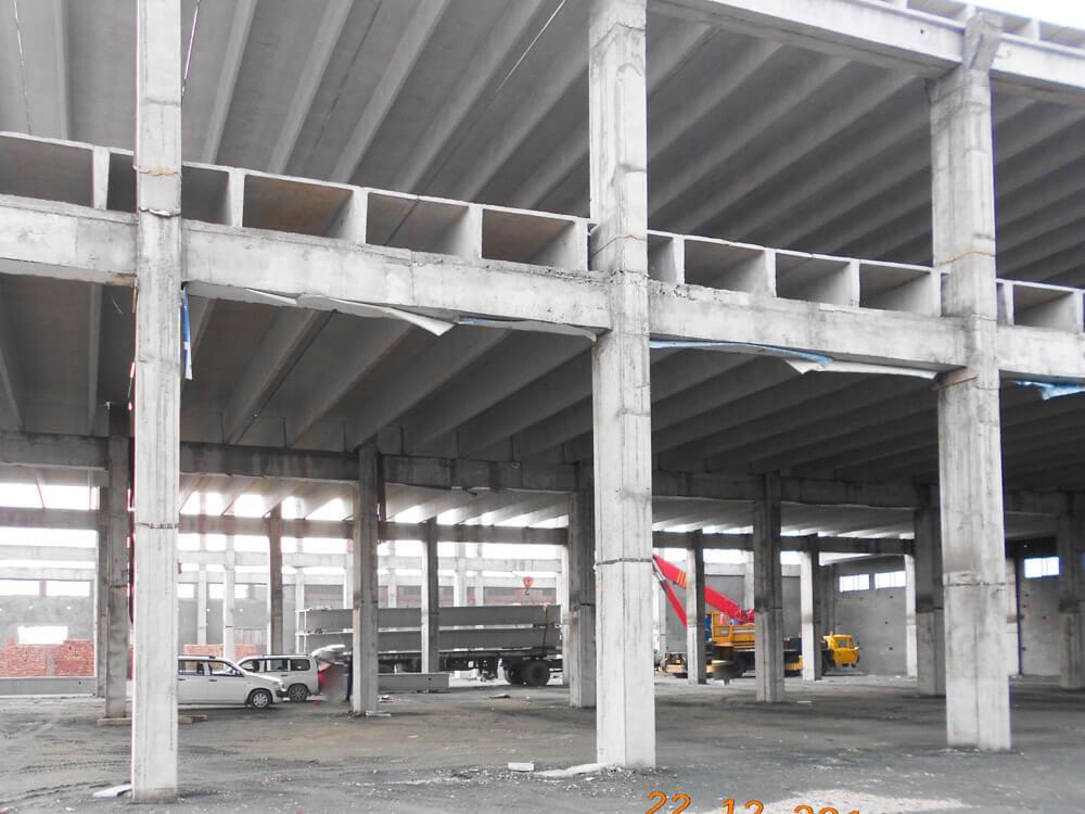 Double Tee Roof Izhar Concrete Pvt Ltd
