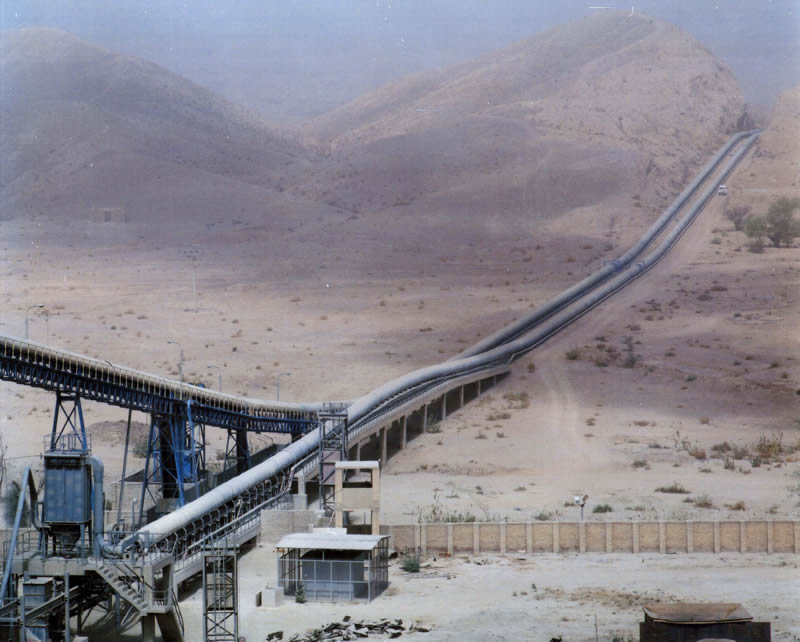 DG Cement Lime Stone Conveyor DG Khan